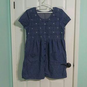 3 for $30 -Vintage Volup/Plus Denim Babydoll Dress